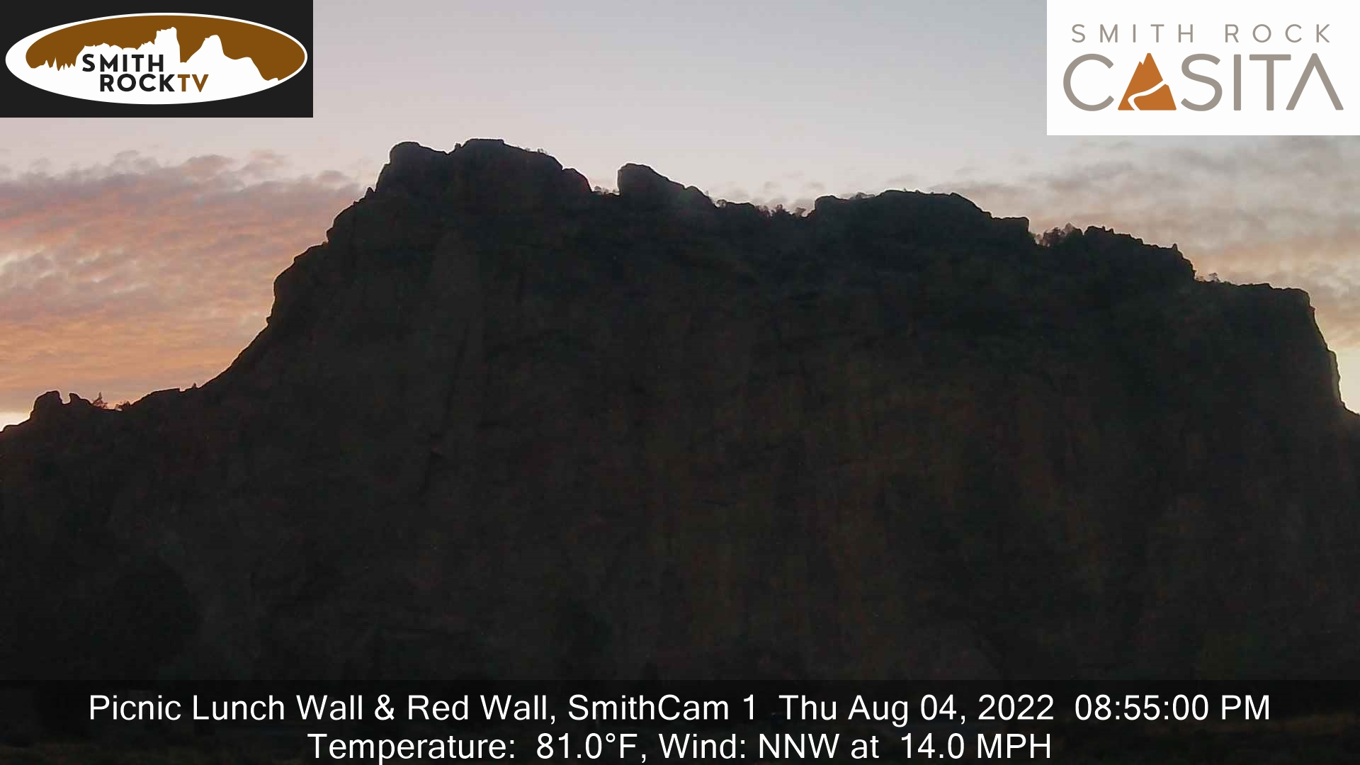 Smith Rock Webcam