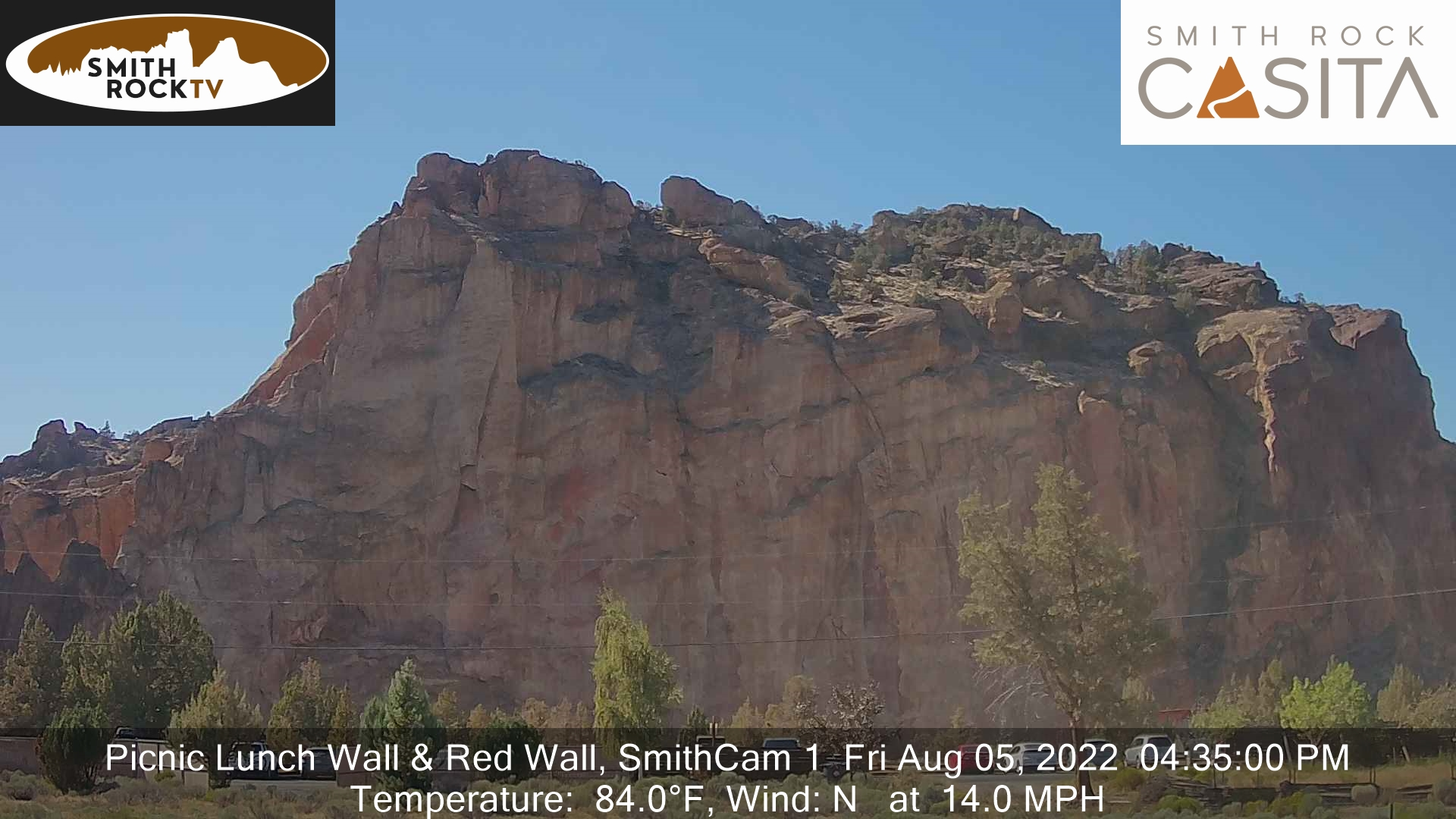 Smith Rock Cam webcam image