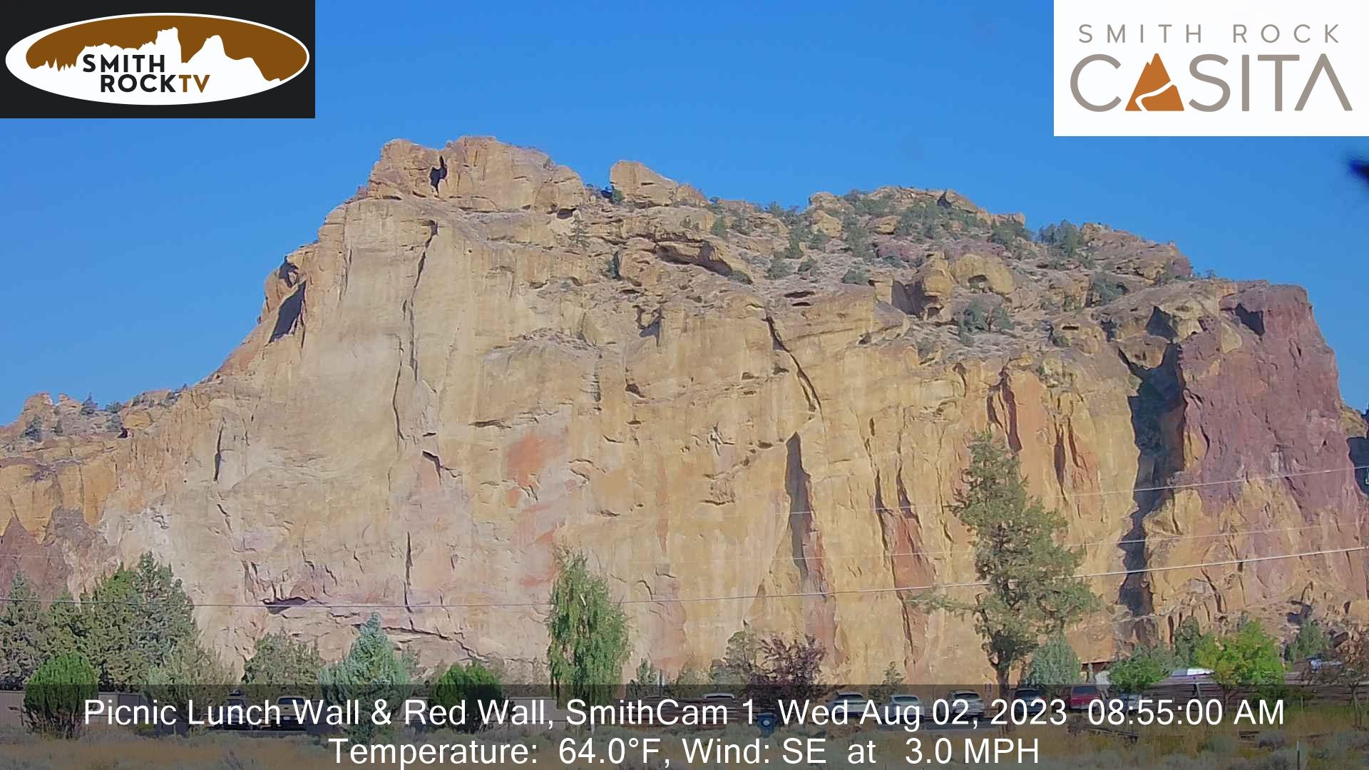 Smith Rock Cam webcam image